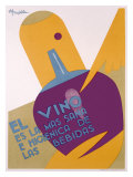 Wine and Diet Giclee Print