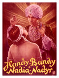 Handy-Bandy and Nadia-Nadyr Giclee Print