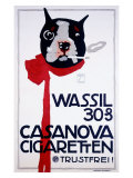 Casanova Cigarette Terrier Giclee Print