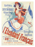 L'Etentard Francais Bicycles Giclee Print