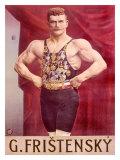 Fristensky Strong Man - Giclee Baskı