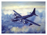 B-50 Bomber, Cold War Warrior Giclee Print by Jim Horan