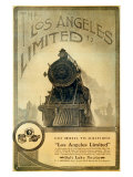 Union Pacific, Los Angeles Locomotive Giclee Print