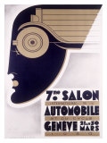 Geneva Auto Show, c.1930 Giclee Print