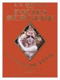 La Revue Folies Bergere - Giclee Baskı
