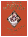 La Revue Folies Bergere Giclee Print