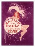 Casino de Paris Grand Revue Giclee Print