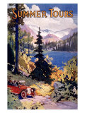 Summer Tours, Union Pacific Railroad Giclee Print