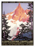 Mt Blanc Chamonix Reproduction procédé giclée