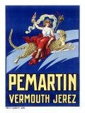 Pemartin Aperitif Vermouth Giclee Print