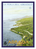 Abbazia, The Pearl of the Adriatic Giclee Print