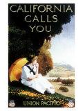 Union Pacific, California Calls Giclee Print