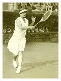 Womens Championship Tennis Giclee Print