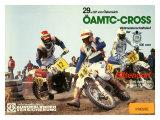 29th Austrian Grand Prix Motocross Reproduction procédé giclée