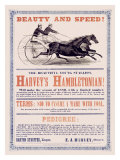 Hambletonian Harness Racing Giclee Print