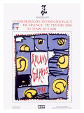 Roland Garro Tennis Championship Reproduction proc&#233;d&#233; gicl&#233;e