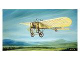 Pre-WWI Bleriot Monoplane Giclee Print by Robert Mascher