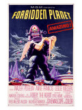 Forbidden Planet Robby the Robot Poster Lámina giclée