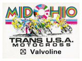 Mid Ohio Grand Prix Motocross Giclee Print