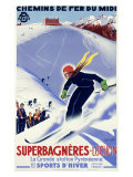 Luchon, Sports d'Hiver Giclee Print