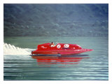 Laura 1A Speed Boat Hydroplane Giclee Print by Bill Northup