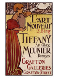 Art Nouveau Tiffany's Glass Giclee Print