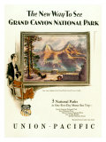 Union Pacific, Grand Canyon Giclee Print