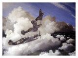 AVG Curtiss Hawk P40C Burma Giclee Print by Paul Wollman