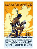 Mamaroneck Village Anniversary Giclee Print