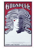 Godspell Cherry Lane Theater Giclee Print