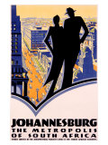 Johannesburg, South Africa Giclee Print