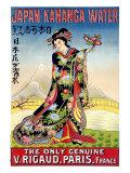 Kananga Mineral Water, Japan Giclee Print