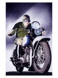 Midnight Rider Giclee Print