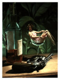 Aperitif 7000 Clams Colt Giclee Print by Richie Fahey