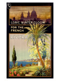 Winter Escape, French Riviera Giclee Print