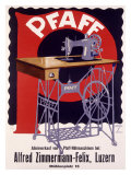 Pfaff German Sewing Machine Giclee Print