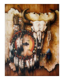 Echo of the Buffalo Giclee Print by Teri Rosario