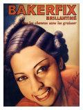 Josephine Baker, Bakerfix Giclee Print