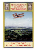 Dayton Ohio Air Aviation Show Giclee Print