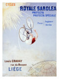 Bicycles Royale Sarolea Giclee Print