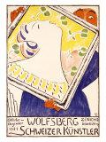 Wolfsberg Art Show, Zurich Giclee Print