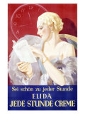 Jede Stunde Cosmetic Facial Creme Giclee Print