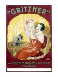 Gritzner Sewing Machine - Giclee Baskı