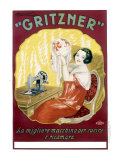 Gritzner Sewing Machine Giclee Print