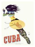 Travel to Cuba Giclee Print
