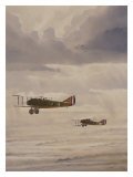 WWI, Rikenbacker Spad Wingman Giclee Print by Bill Northup