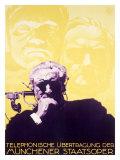 German State Opera, Telephone Giclee Print