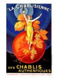 Chablisienne Chablis Wine Giclee Print