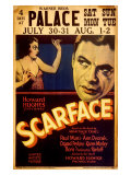 Howard Hughes presents Scarface Giclee Print