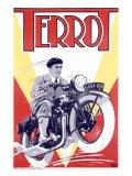 Terrot Motorcycle Wydruk giclee
